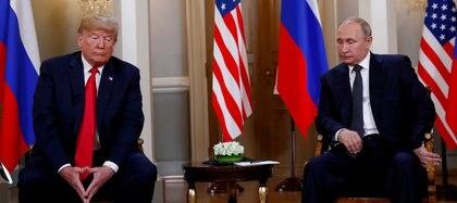 En julio de 2018, Trump volvió a reunirse con Putin en una cumbre en Finlandia
