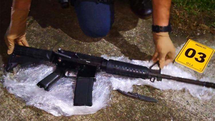 Una inspección de vehículos en Costa Rica descubrió dos rifles de asalto AK47, uno de los cuales fue registrado en la base de datos iARMS de interpol por un país en el Medio Oriente