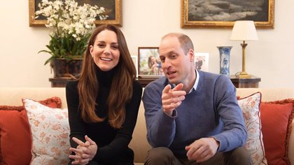 El príncipe William y Kate Middleton lanzaron su canal oficial de YouTube