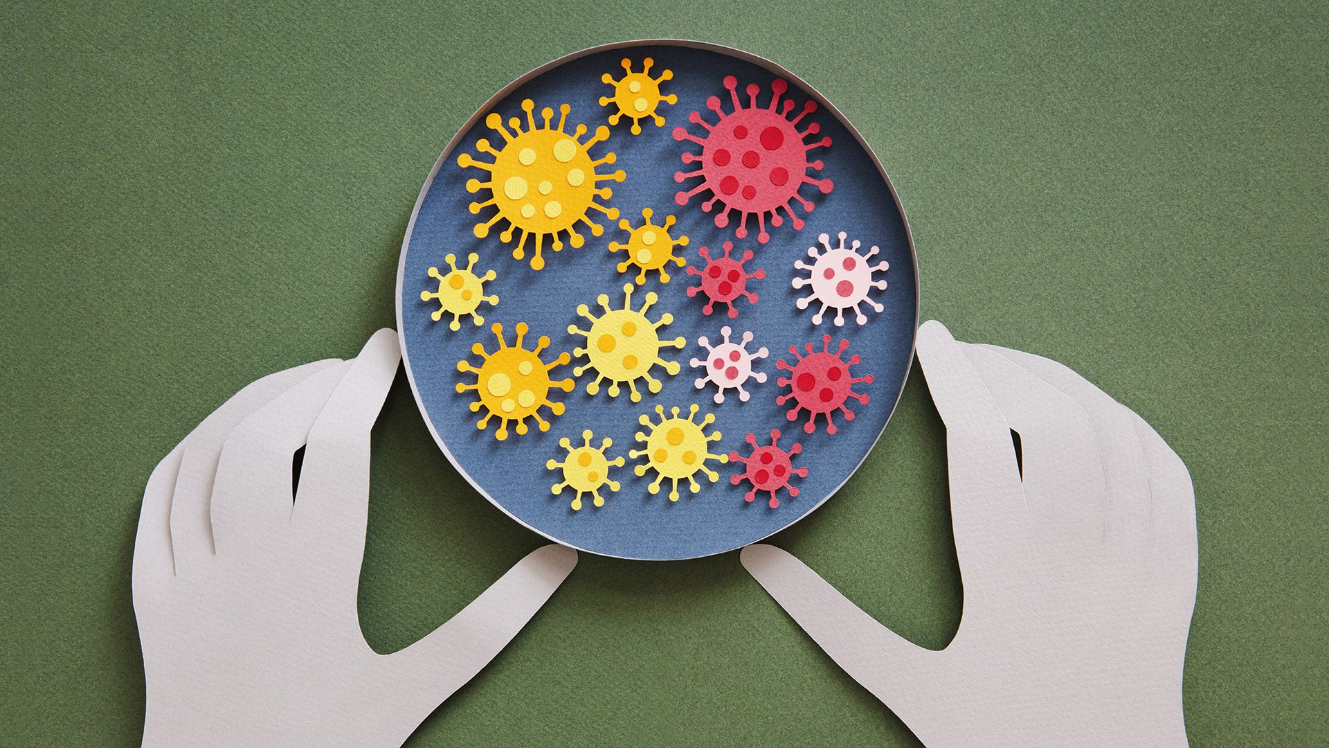 Concept of coronavirus testing covid