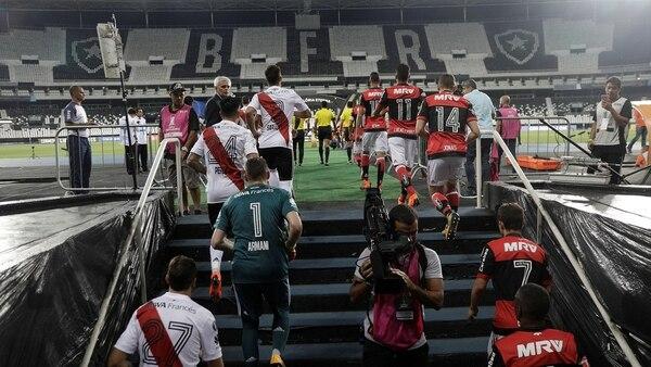River debuta en la Copa Libertadores frente a Flamengo en Río de Janeiro (Foto: REUTERS)