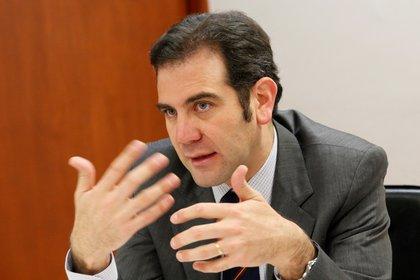 Fotografía del 17  de octubre de 2019 del presidente del Instituto Federal Electoral, Lorenzo Córdova. EFE/Mario Guzmán/Archivo