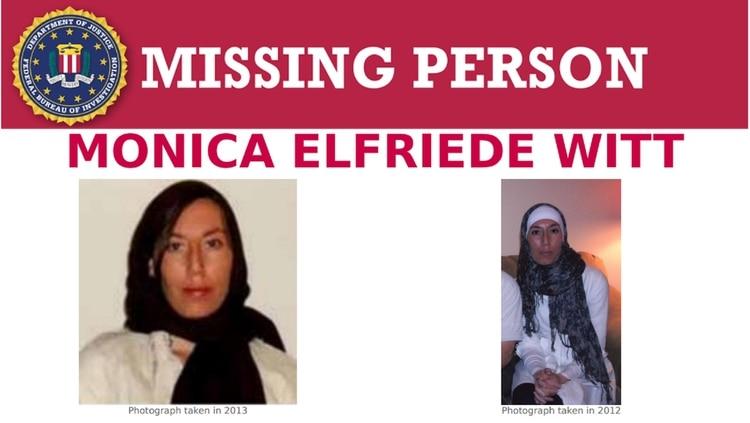 Monica Witt, ex agente de inteligencia estadounidense acusada de espiar para Irán (FBI)