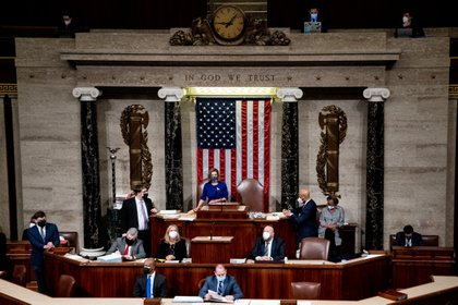 Foto de la Cámara de Representantes de los Estados Unidos. Foto: Erin Schaff/Pool via REUTERS
