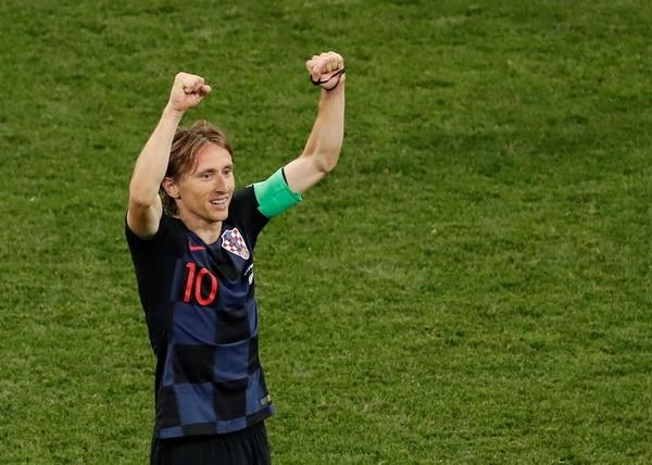 Luka Modric es el candidato croata a ganar el premio al mejor jugador del Mundial