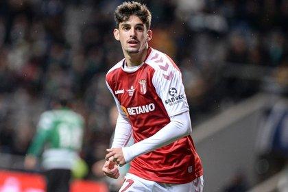 El extremo portugués Trincao llega proveniente del SC Braga