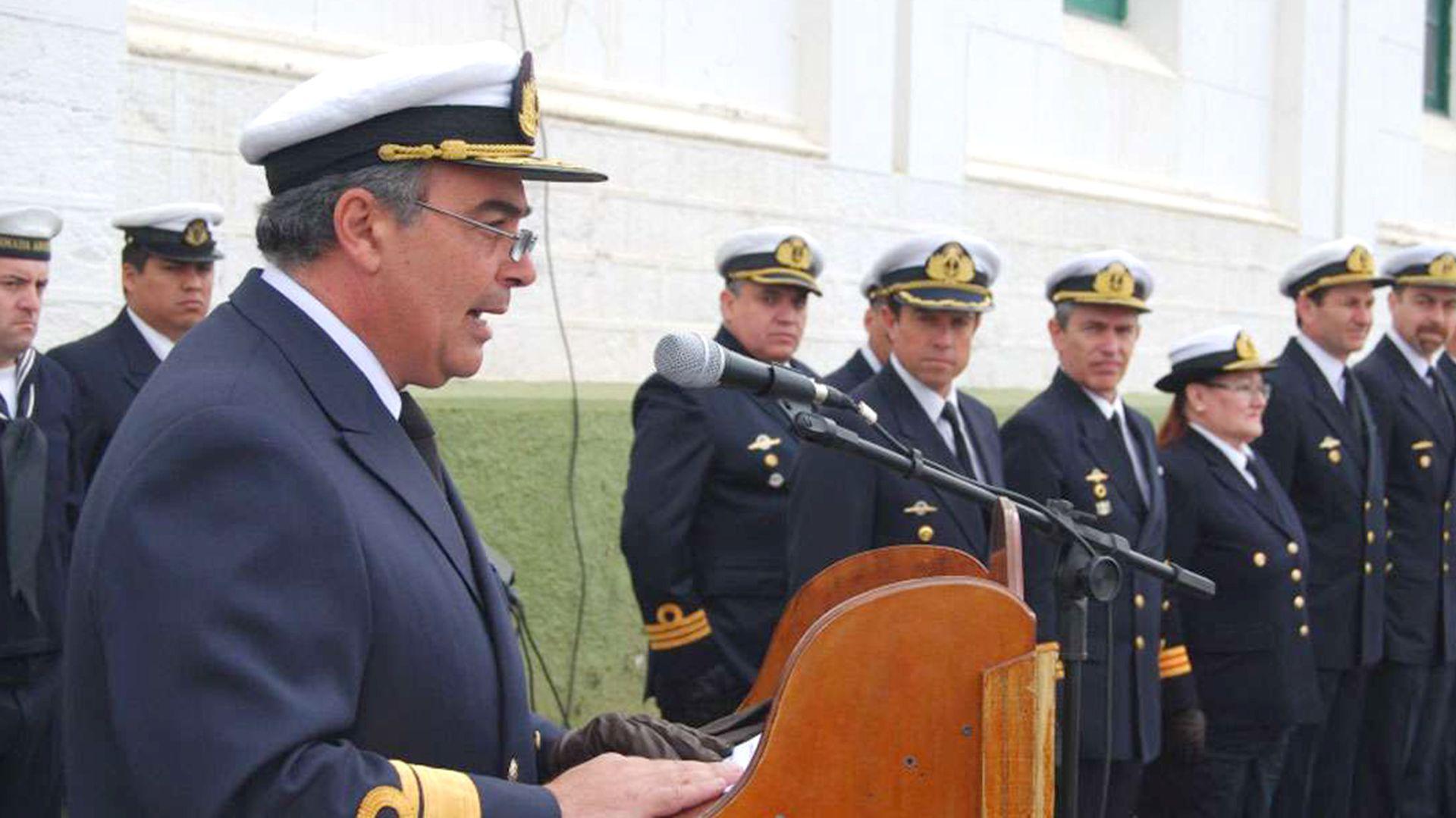El contraalmirante Luis López Mazzeo sancionado con 60 días de Arresto Riguroso