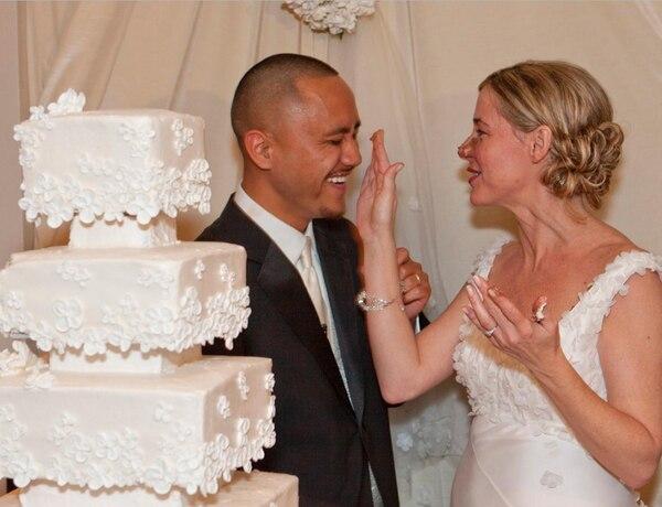 La boda de Vili Fualaau y Mary Kay Letourneau
