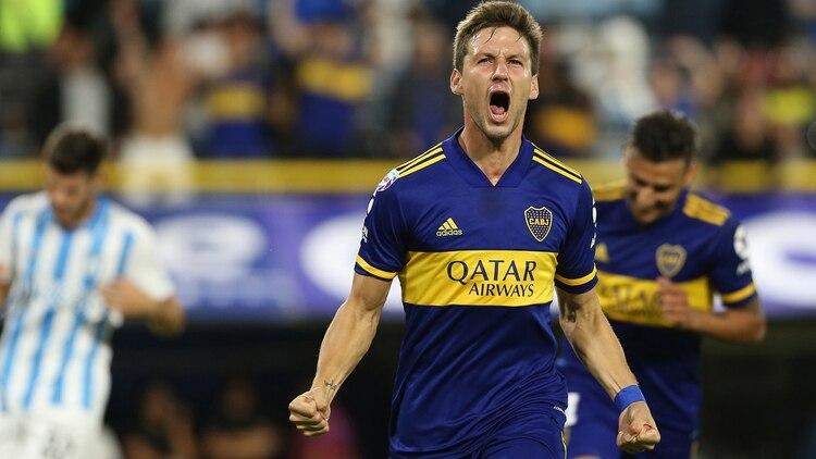 Soldano se ganó la titularidad con Russo en Boca y ahora es pretendido por Pusineri en Independiente (Fotobaires)