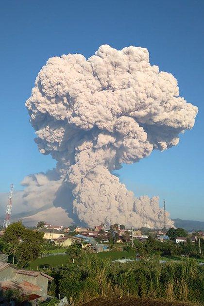 (Agencia Geológica de Indonesia/ AFP)
