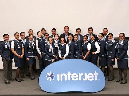 La importancia de Interjet, fundada en 2005 en Ciudad de México, radica en que atiende a cerca de 14 millones de pasajeros cada año a 55 destinos en 10 países (Foto: Twitter)