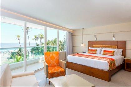 El hotel de Cartagena es el que más ocupación ha tenido de la cadena. Para el mes de septiembre hubo una ocupación del 6%, es decir, 189 habitaciones. Foto: Cortesía Hoteles Dann Carlton.