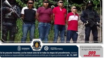El 22 de agosto, Zenén Nava, líder de Los Rojos en Chilapa, fue detenido (Foto: Twitter/SSPGuerrero)