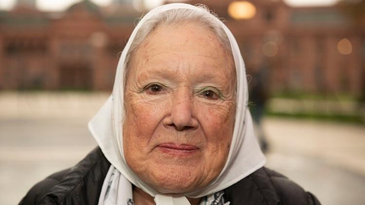 Nora Cortiñas, referente de Madres de Plaza de Mayo Línea Fundadora (Gastón Taylor)