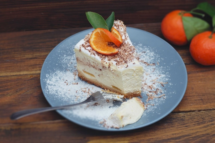 El cheescake New York se distingue por su base de galletitas de vainilla (Shutterstock)