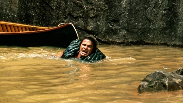 "Burt Reynolds en ""Deliverance"" (The Grosby Group)"