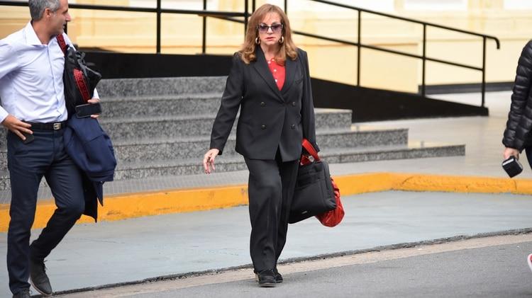 Exministra de Defensa, Nilda Garré. No fue citada a declarar en la comisión bicameral que investiga el hundimiento del ARA San Juan. (Joaquín García Conde)