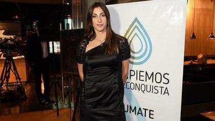 María Laura Ábalo, remera y una de las impulsoras junto con Ariel Suárez (Nicolás Stulberg)