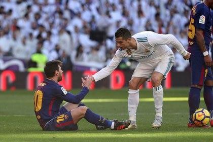 Desde que Cristiano Ronaldo dejó el Real Madrid, Lionel Messi no volvió a marcar goles en los clásicos de España (Foto: REUTERS)