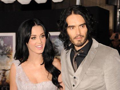 Katy Perry le compró a Russell Brand un boleto para viajar al espacio exterior