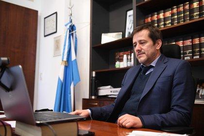 Mariano Recalde, senador del Frente de Todos