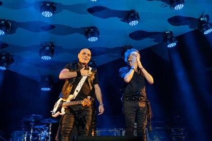 Zeta Bosio y Charly Alberti comenzaron la gira Gracias Totales