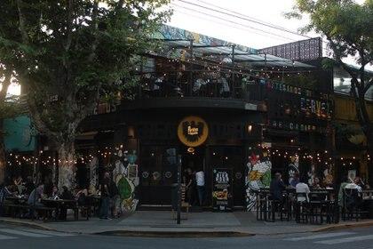 Este fin de semana estuvieron habilitadas las mesas al aire libre en bares y restaurantes.