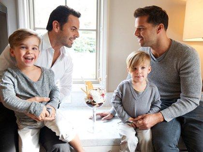 La paternidad le dio coraje para contar públicamente su orientación sexual (Vanity Fair 164)