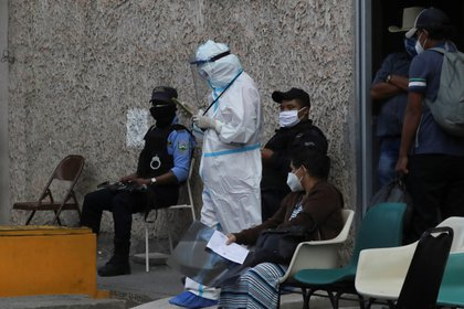 Coronavirus en Honduras. EFE/Gustavo Amador /Archivo
