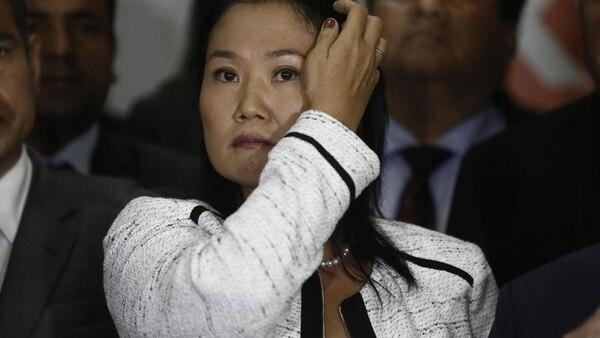 Keiko Fujimori, en el punto más bajo de su carrera política.
