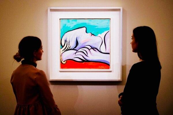 La obra de Picasso muestra a la amante del pintor español, Marie-Thérèse Walter