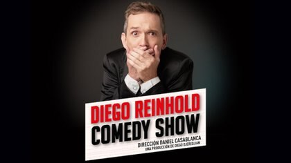 Diego Reinhold presenta su nuevo espectáculo en el Paseo la plaza.