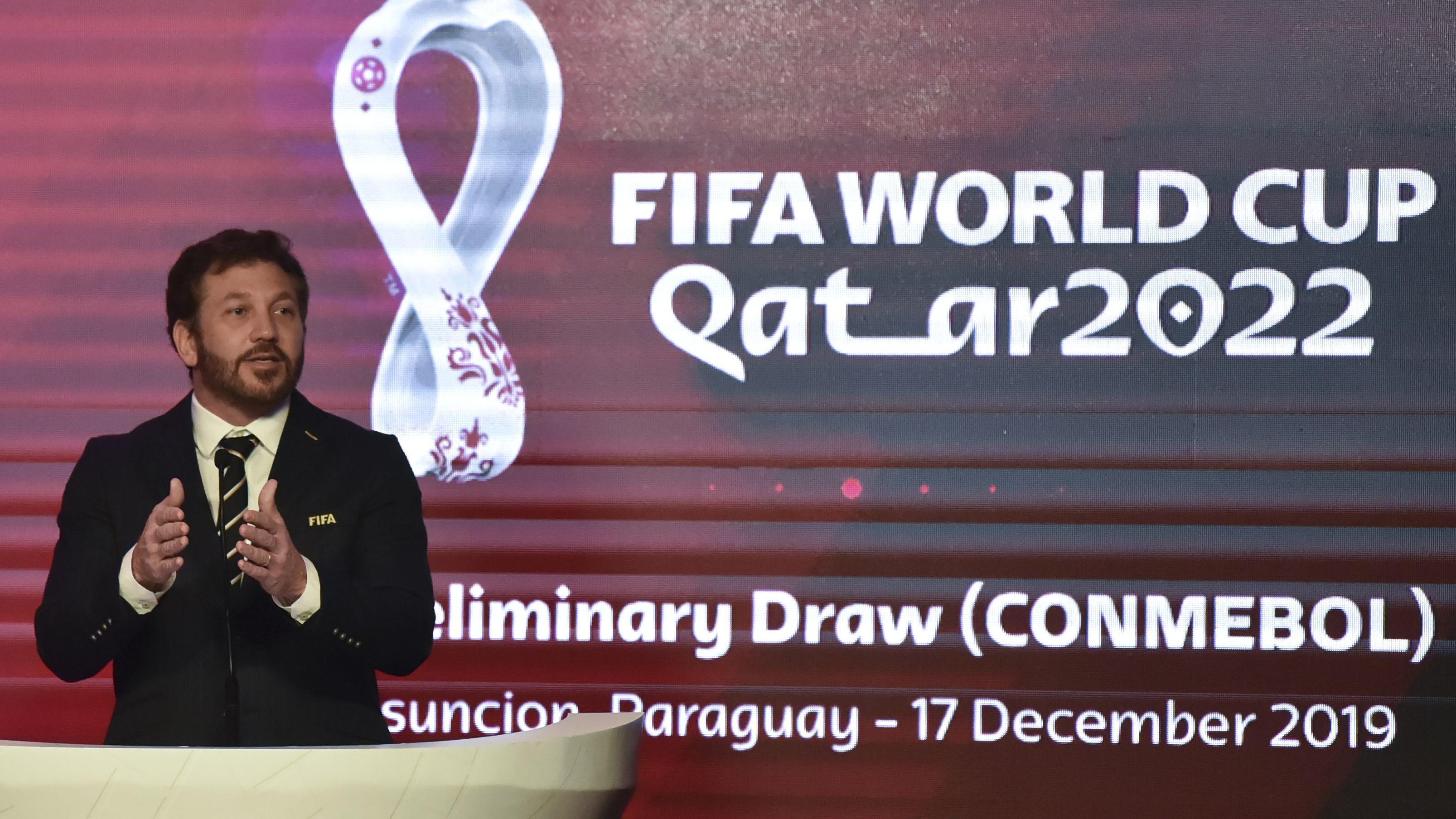 Las Eliminatorias Sudamericanas rumbo al Mundial de Qatar 2022 aún no comenzaron (AFP)