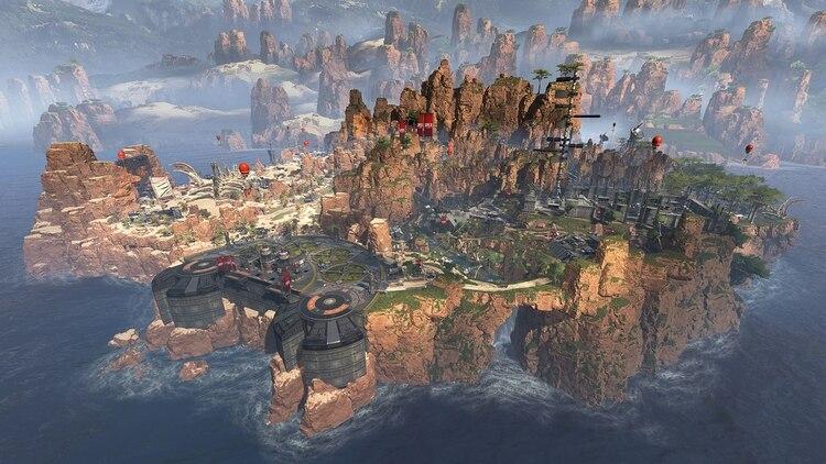 Los mapas pueden albergar partidas de 60 jugadores divididos en 20 equipos