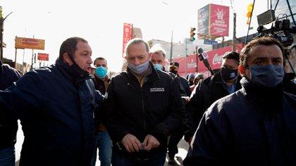 El ministro de Seguridad Sergio Berni aseguró que no tolerará insubordinación en las filas policiales por recamos salariales