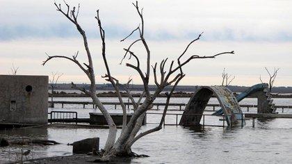 Epecuén estuvo sumergido bajo el agua casi 30 años