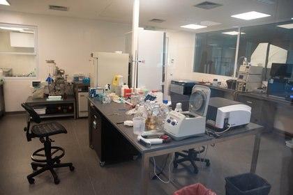 Un paso importante es el de poner en contacto al virus con los anticuerpos y esto se lleva a cabo en un laboratorio especial con las más altas medidas de bioseguridad