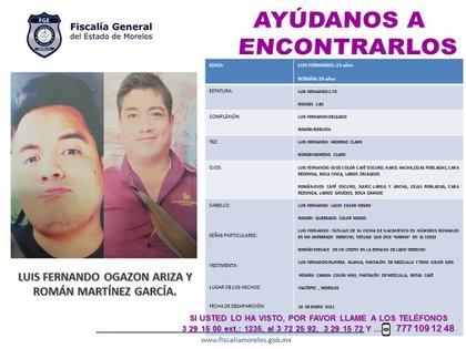 (Photo: Morelos Prosecutor's Office)
