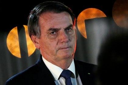 El presidente de Brasil Jair Bolsonaro REUTERS/Adriano Machado