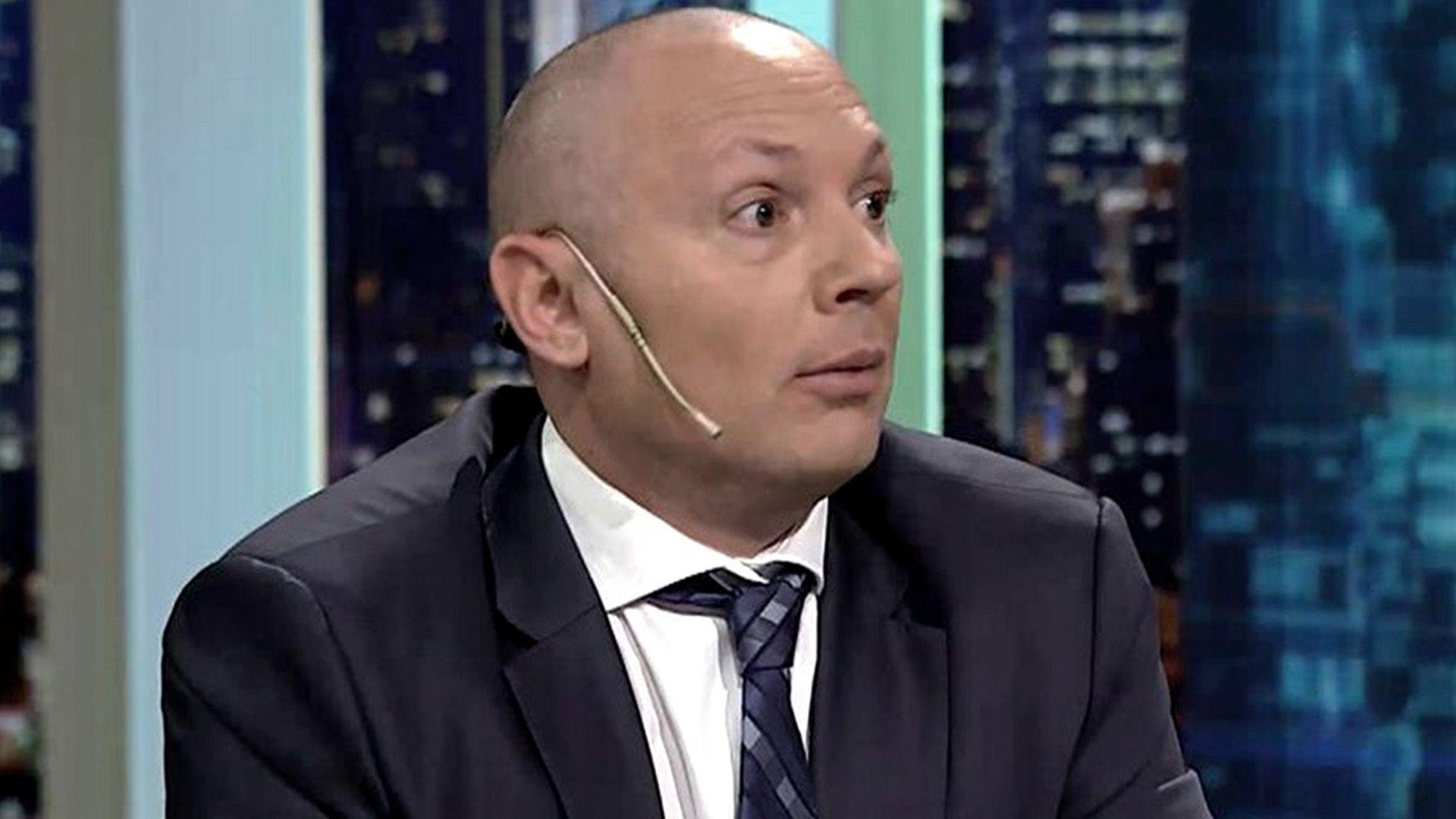 Marcelo D'Alessio antes de que estallara el escándalo de Dolores que lo hizo conocido