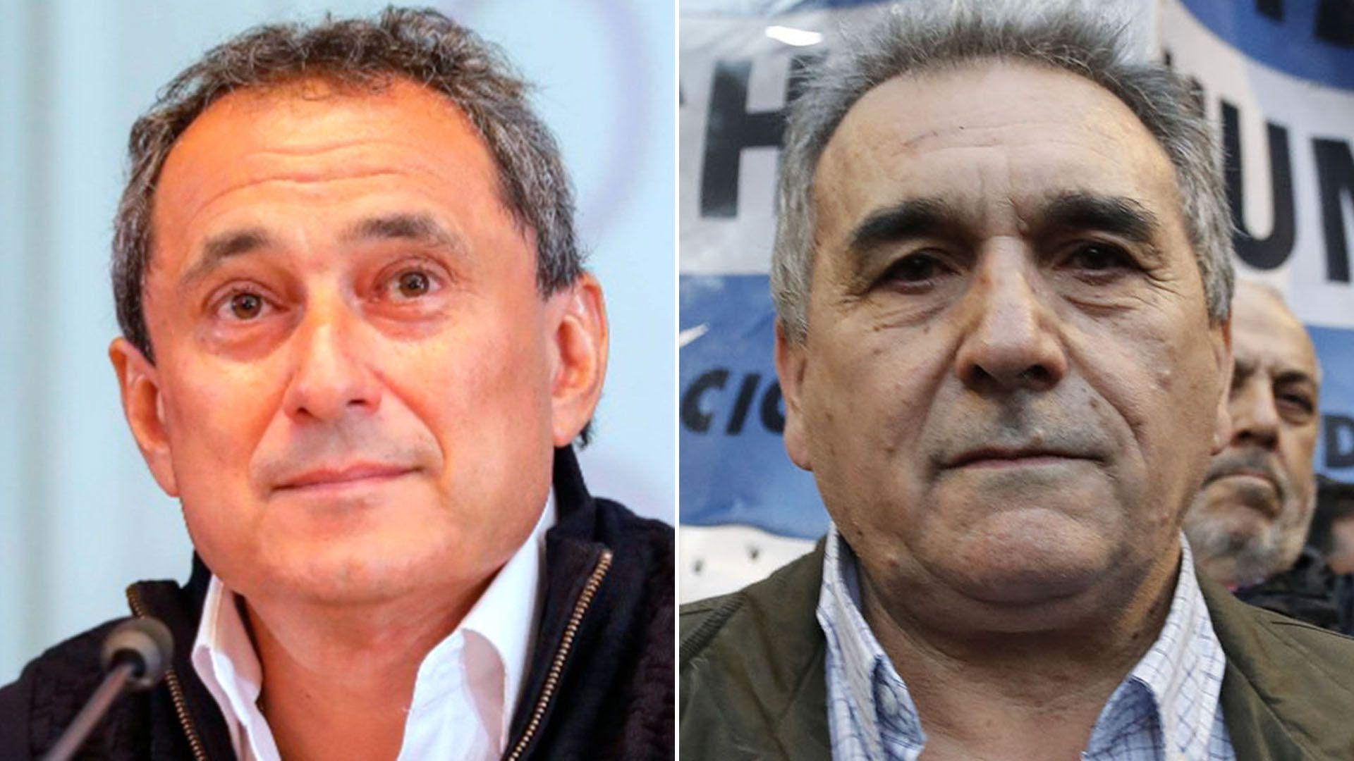 Sergio Sasia y Juan Carlos Schmid