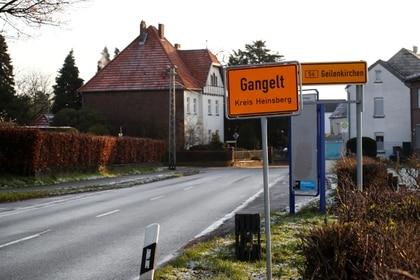 El municipio de Gangelt, escenario de un evento de supercontagio en Alemania. REUTERS/Wolfgang Rattay