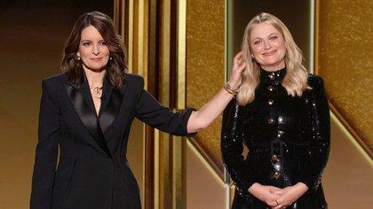 Las presentadoras Tina Fey y Amy Poehler (Reuters)