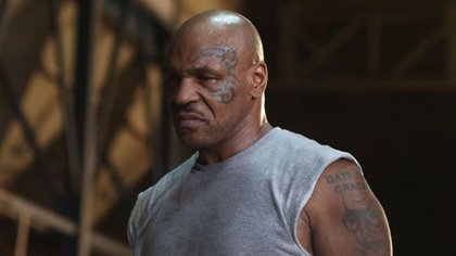 """Editorial use only. No book cover usage.Mandatory Credit: Photo by Our House Films/Kobal/Shutterstock (9427677b)Mike Tyson""""Kickboxer: Retaliation"""" Film - 2018"""