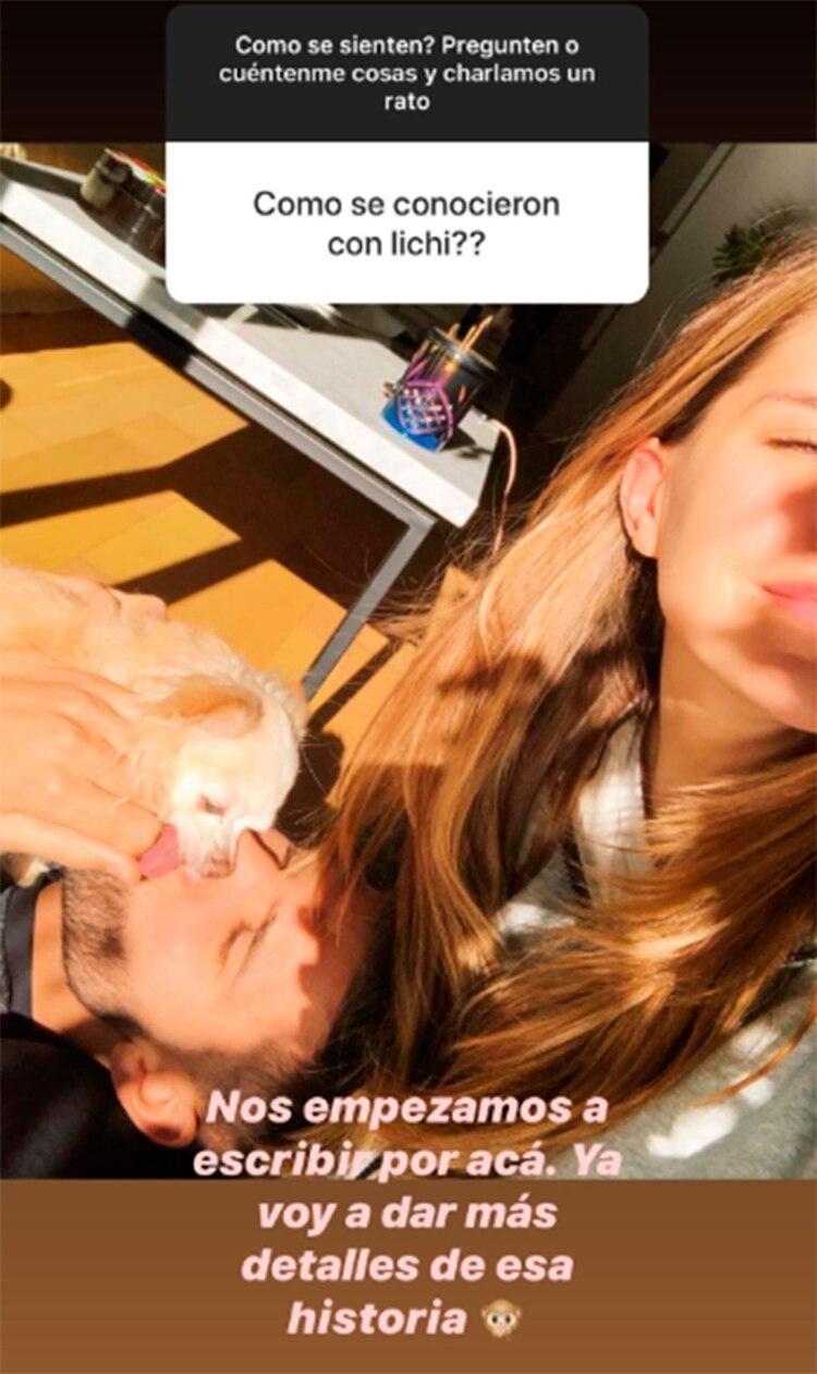En una charla con sus seguidores de Instagram, Mica Tinelli habló de su relación con el Licha López