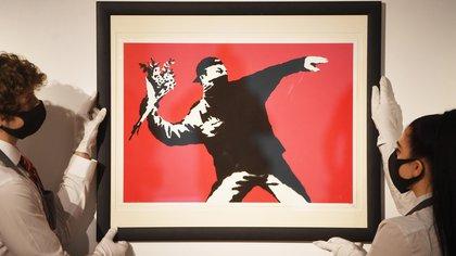 Sotheby's aceptará pagos con criptomoneda en la subasta de una obra de Banksy
