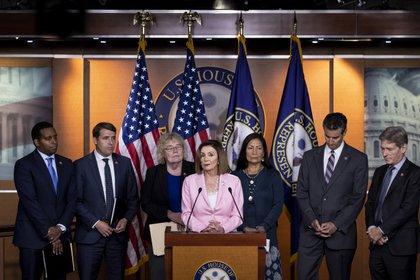 El Partido Demócrata abrió un proceso de juicio político contra Trump (Anna Moneymaker/The New York Times)