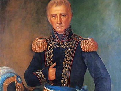 Cornelio Saavedra, jefe de Patricios y presidente de la Primera Junta
