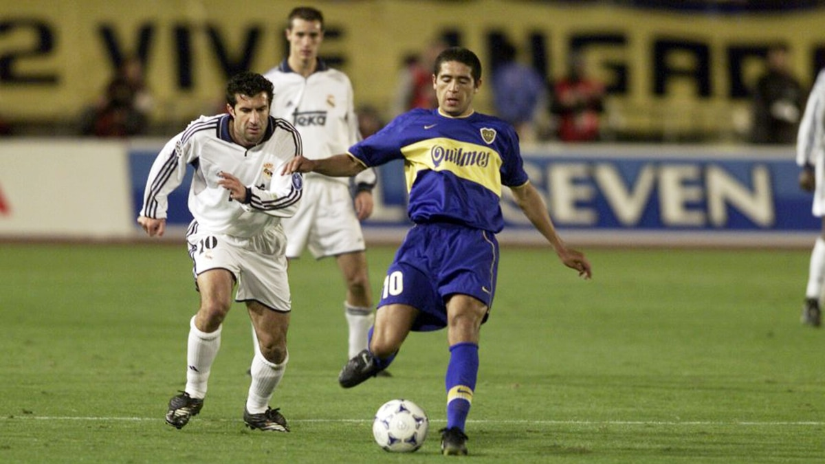 A legend of Real Madrid, revealed how much he did suffer Riquelme in the  Intercontinental Cup won by Boca in 2000 - World Today News