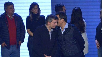 Máximo Kirchner y Sergio Massa (Gustavo Gavotti)